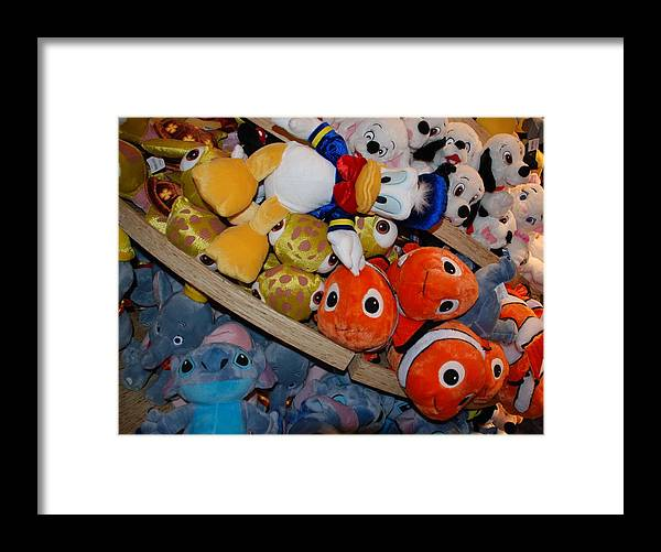 Colors Framed Print featuring the photograph Disney Animals by Rob Hans