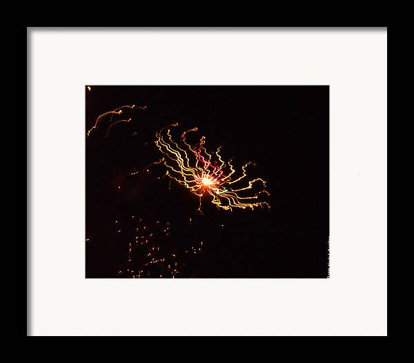 Black Framed Print featuring the photograph Distant Galaxy by Nicole I Hamilton