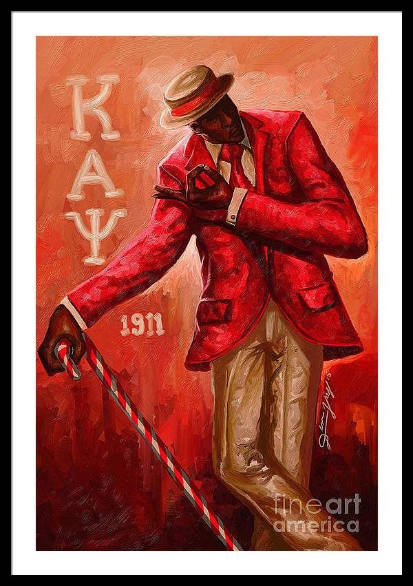 Kappa Alpha Psi Framed Art Prints | Fine Art America