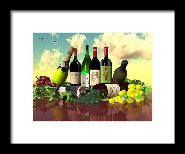 3d Framed Print featuring the painting Diverse Spirits by Williem McWhorter