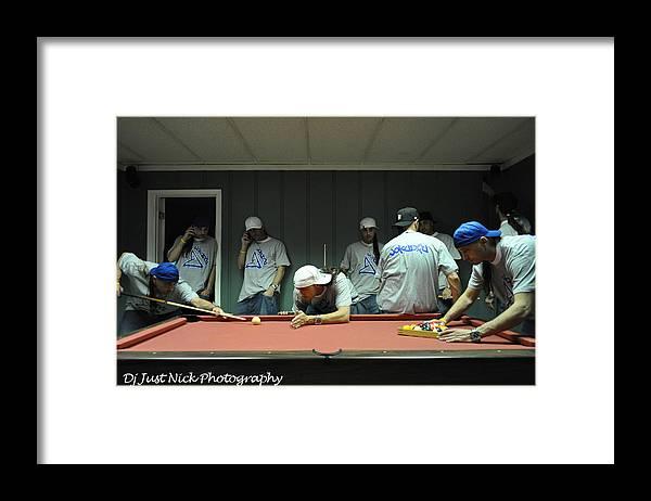 Dj Just Nick Framed Print featuring the photograph Dj Just Nick Photography by Nicholas Grunas