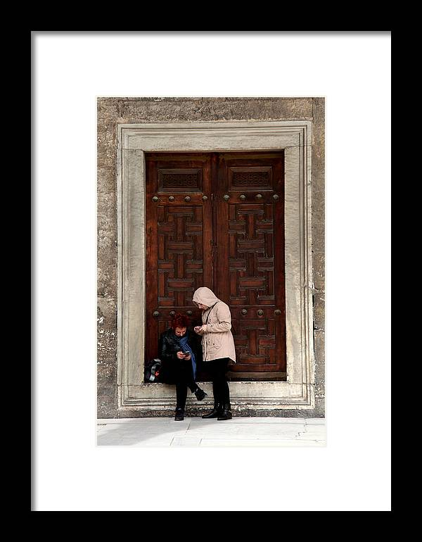 Istanbul Framed Print featuring the photograph Do We Know Anything Yet Or Ever by Jez C Self