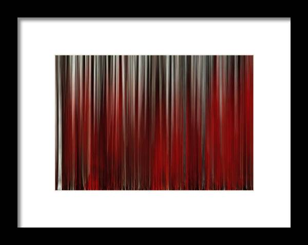 Abstract Framed Print featuring the painting Do You Hear The People Sing by Leonard Frederick