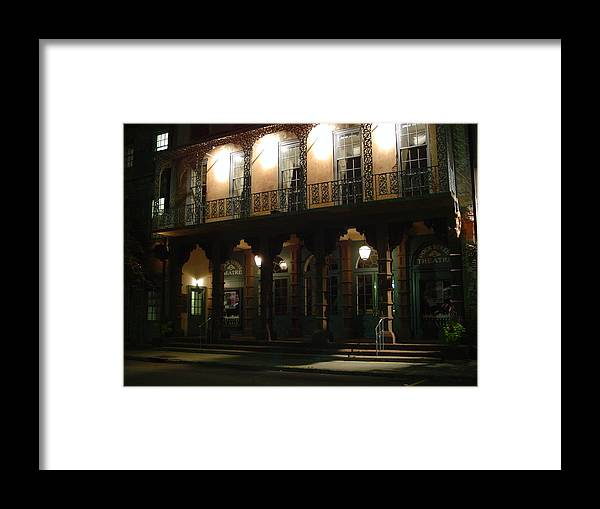 Charleston Framed Print featuring the photograph Dock Street Theatre by Richard Marcus