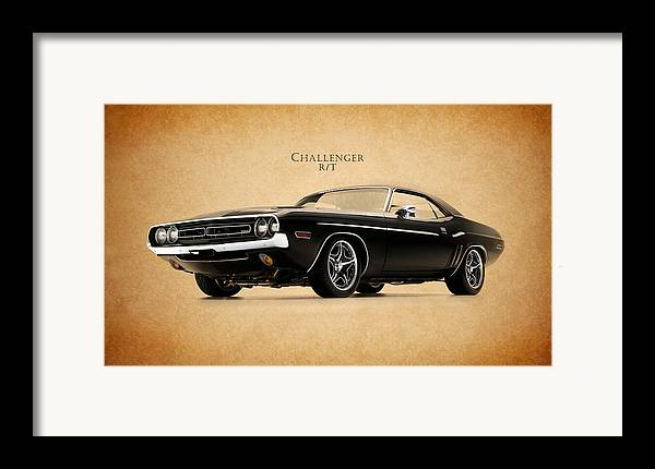 Dodge Challenger Framed Print featuring the photograph Dodge Challenger by Mark Rogan