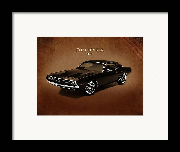 Dodge Challenger Rt Framed Print featuring the photograph Dodge Challenger Rt by Mark Rogan