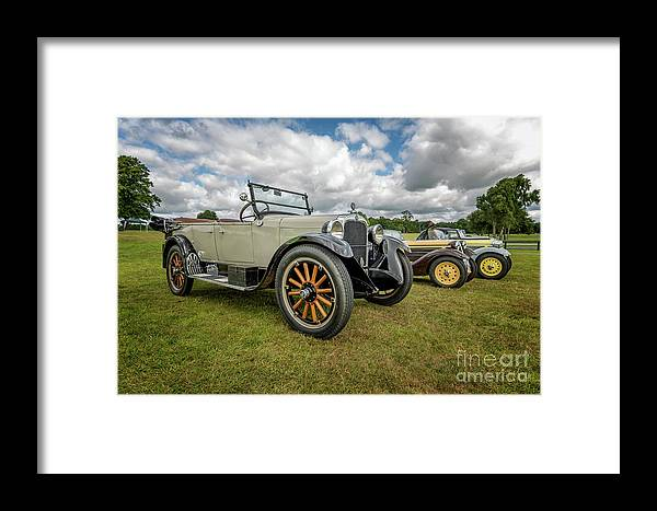 American Framed Print featuring the photograph Dodge Four Tourer by Adrian Evans