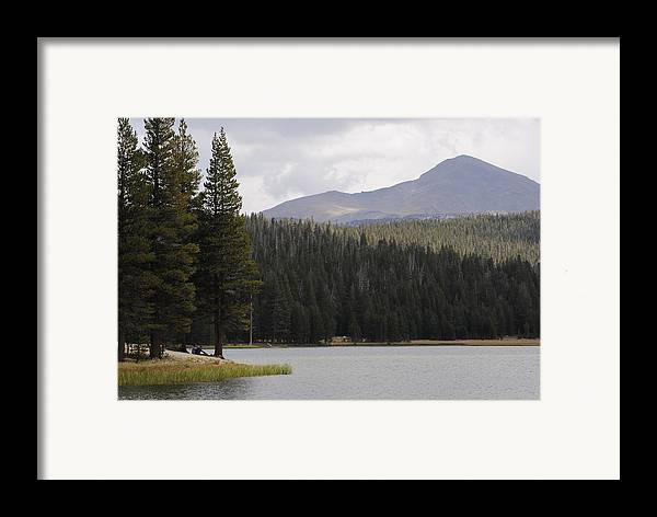 Lake Framed Print featuring the photograph Dog Lake by Meagan Suedkamp
