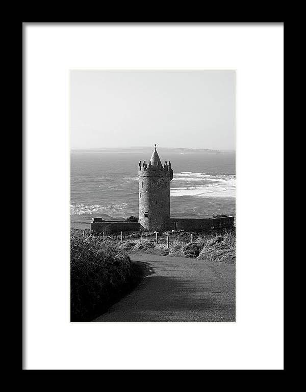 Landscape Framed Print featuring the photograph Doolin Castle by Ann O Connell