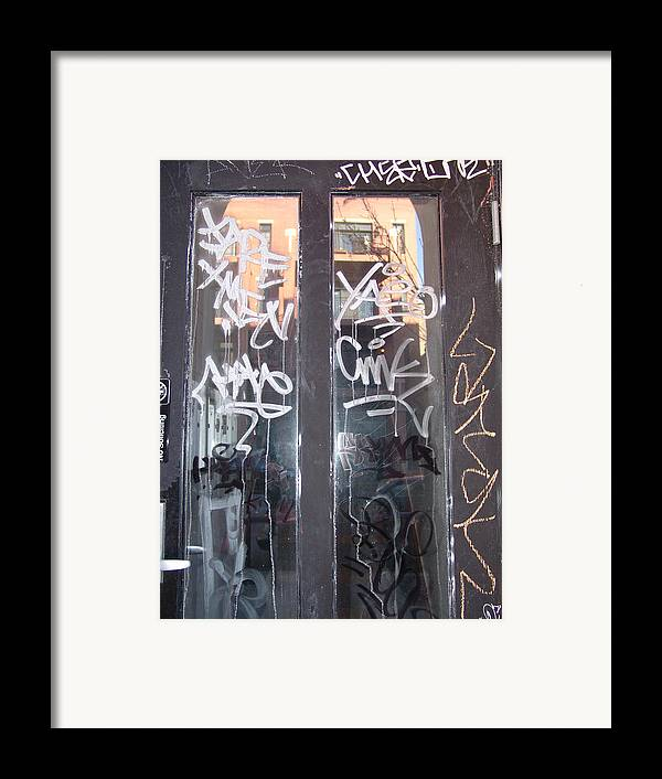 Door Framed Print featuring the photograph Door Chicago by Kevin Callahan