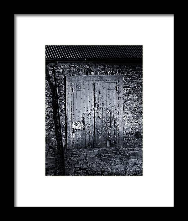Irish Framed Print featuring the photograph Door To Nowhere Blarney Ireland by Teresa Mucha