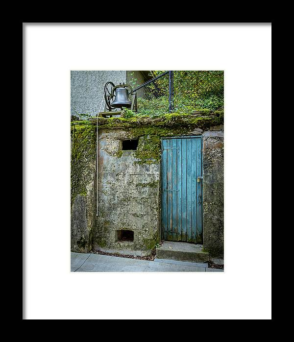 Old Framed Print featuring the photograph Doorbell by Shawn Einerson