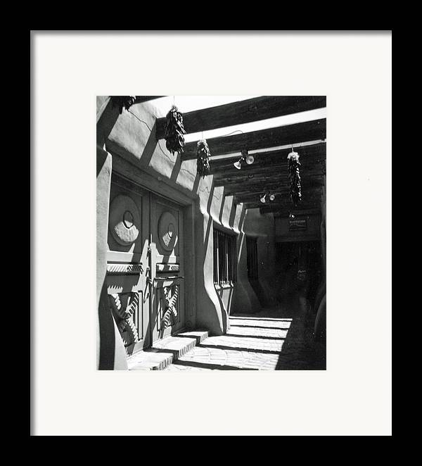 Travel Framed Print featuring the photograph Doors And Shadows by Allan McConnell