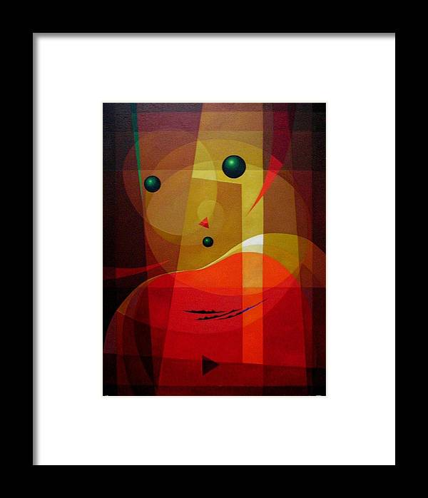 #abstract Framed Print featuring the painting Doors Of Perception by Alberto DAssumpcao