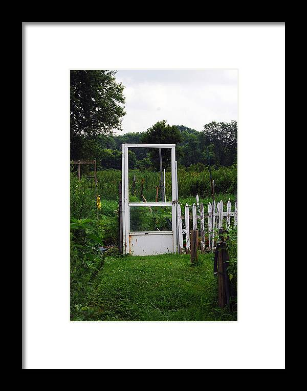 Door Framed Print featuring the photograph Doorway by Coralyn Klubnick Simone