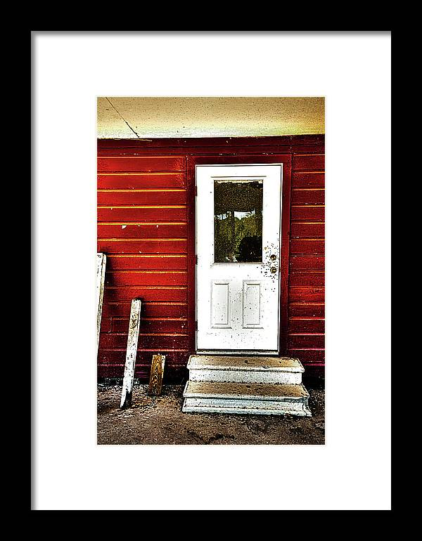 Hdr Color Photography Framed Print featuring the photograph Doorway To Heaven by Wayne Denmark