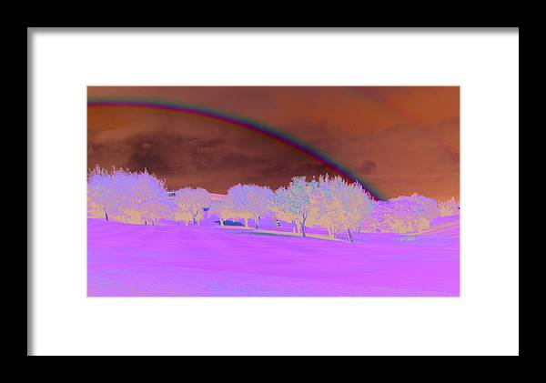 Hawaii Framed Print featuring the photograph Double Rainbow by Tracy Hayden
