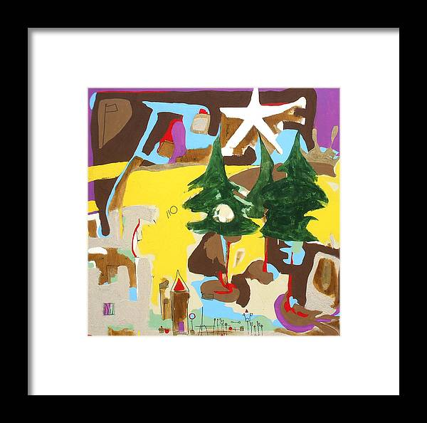 Christian Framed Print featuring the painting Douglasville Ga by Lamar Barber