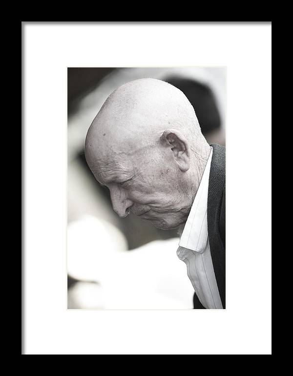 Photographer Framed Print featuring the photograph Down But Not In Despair by Jez C Self