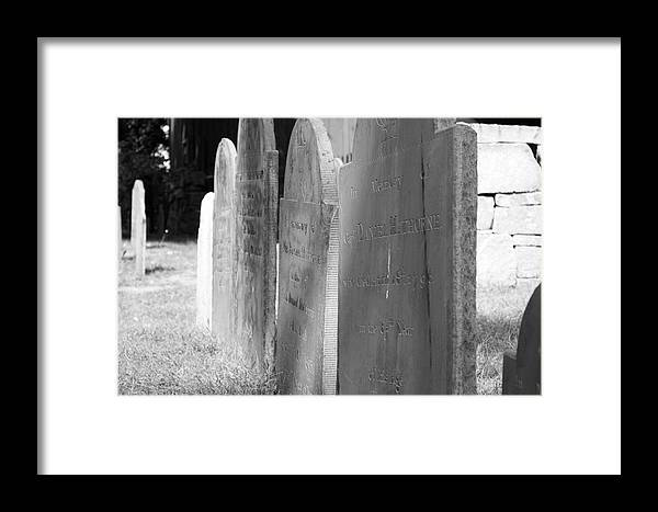 Scenic Framed Print featuring the photograph Down The Line by Erin Rosenblum
