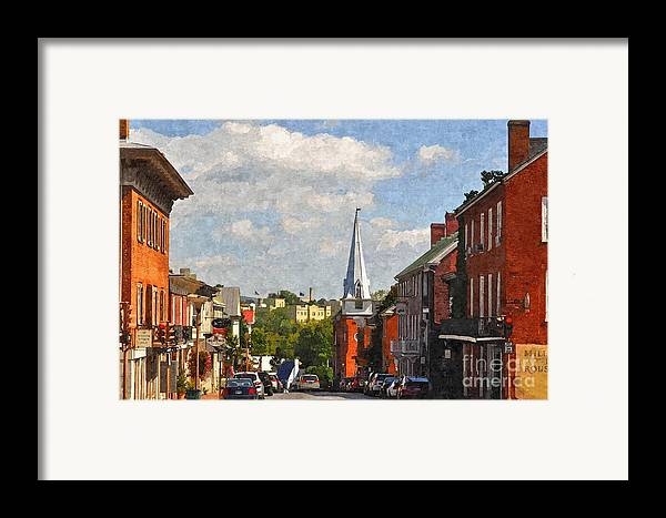 Lexington Framed Print featuring the photograph Downtown Lexington 3 by Kathy Jennings