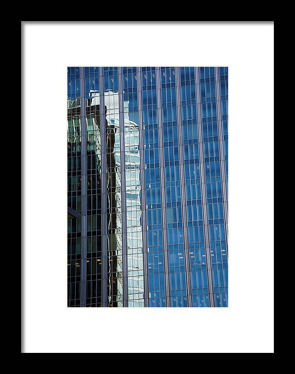Reflection Framed Print featuring the photograph Downtown Reflection by Alasdair Turner