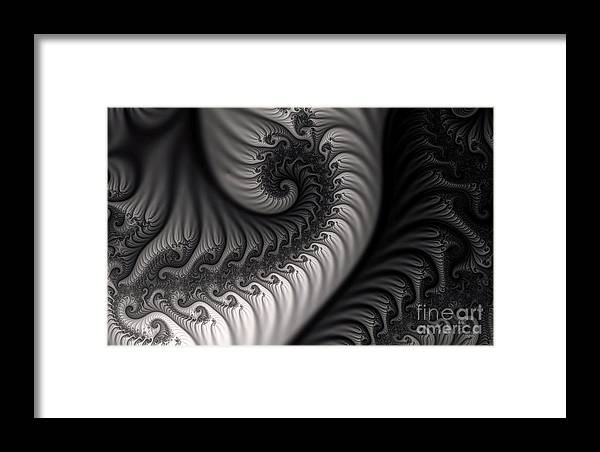 Clay Framed Print featuring the digital art Dragon Belly by Clayton Bruster