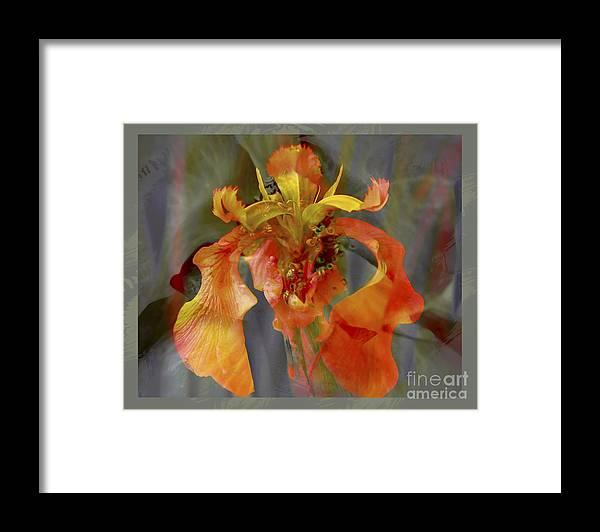 Floral Framed Print featuring the photograph Dragons Breath by Chuck Brittenham