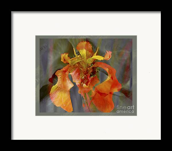 Floral Framed Print featuring the photograph Dragons Breath by Chuck Brittenham
