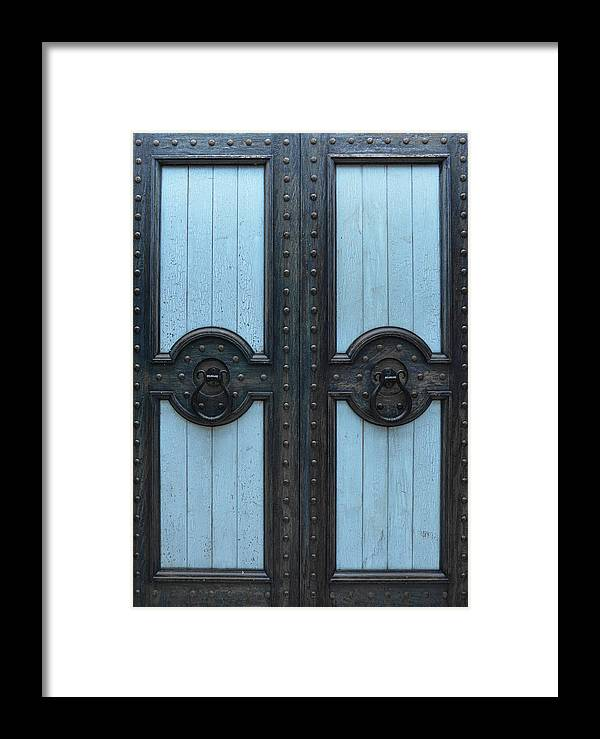 Art Framed Print featuring the photograph Dramatic Door by Jamart Photography