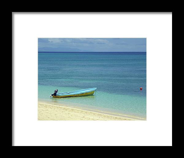 Beach Framed Print featuring the photograph South Pacific Dreams by Bruce