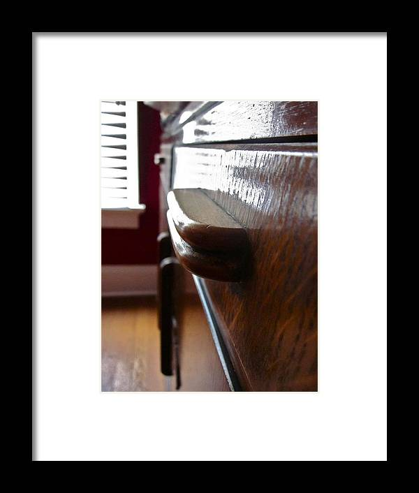 Photograph Of Drawer Framed Print featuring the photograph Dream Drawer by Gwyn Newcombe