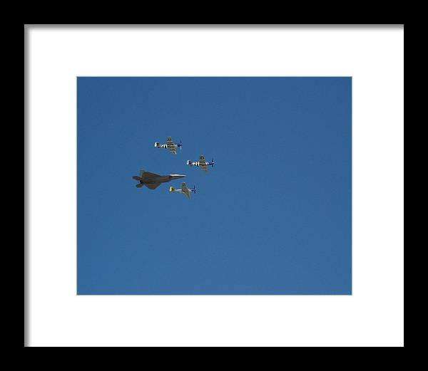 F-22 Framed Print featuring the photograph Dream Flight by Chaz McDowell