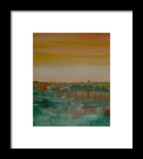 Bali Framed Print featuring the painting Dream Of Bali by Michael Puya