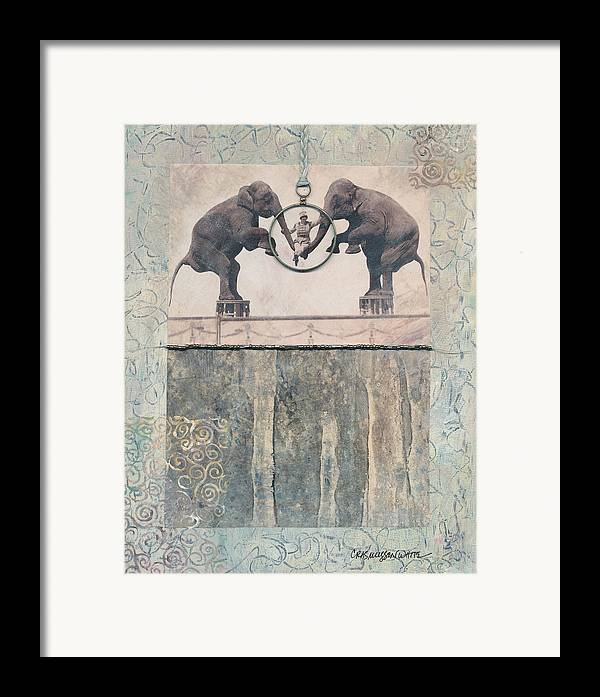 Magic Framed Print featuring the mixed media Dream Of Love by Casey Rasmussen White