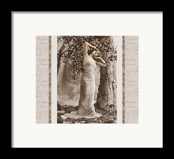 Vintage Framed Print featuring the photograph Dream Of The Night by Mary Morawska
