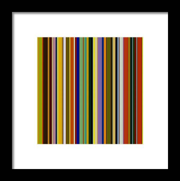 Textured Framed Print featuring the digital art Dreamcoat Designs by Michelle Calkins