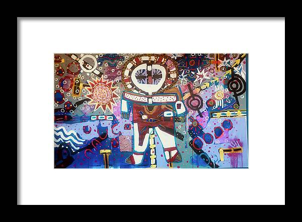 Framed Print featuring the painting Dreaming by Charlie Patton