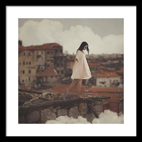 Framed Print featuring the photograph Dreams in old Porto by Anka Zhuravleva