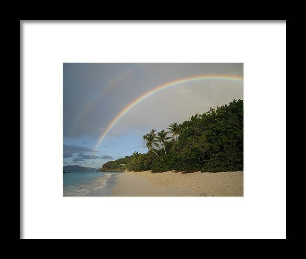 Rainbow Framed Print featuring the photograph Dreams Really Do Come True by Ginger Howland
