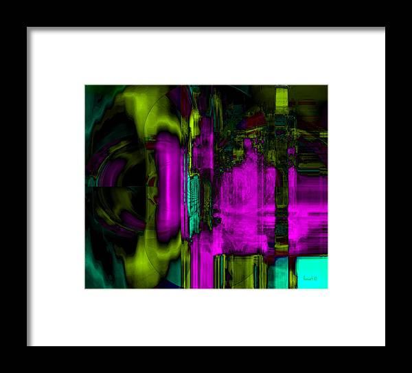 Fania Simon Framed Print featuring the mixed media Dreams Upon October by Fania Simon