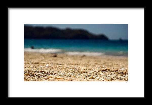 Beach Framed Print featuring the photograph Dreamy Shell Beach by Kim Grosz