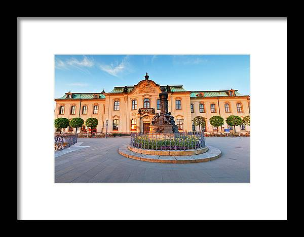 Germany Framed Print featuring the photograph dresden 'III by Milan Gonda