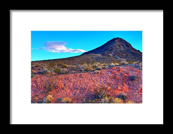 Nevada Framed Print featuring the photograph Drifting By by James Marvin Phelps