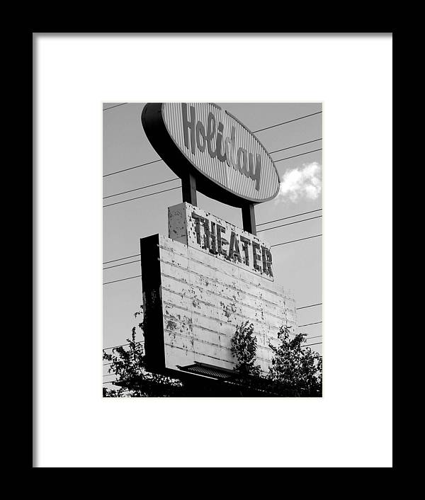 Drive-in Retro Framed Print featuring the photograph Drive-in by Audrey Venute