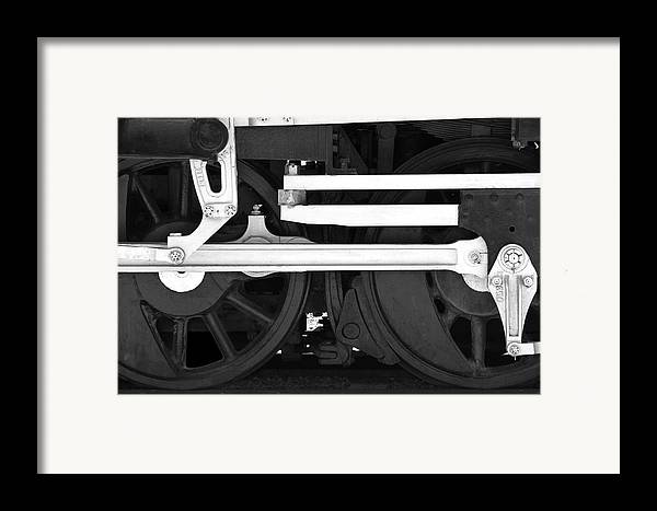 Drive Train Framed Print featuring the photograph Drive Train by Mike McGlothlen