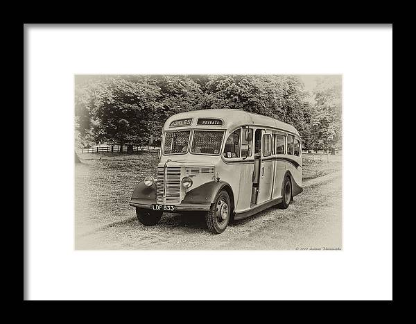Aggpup Framed Print featuring the photograph Driver In Trouble by David J Knight