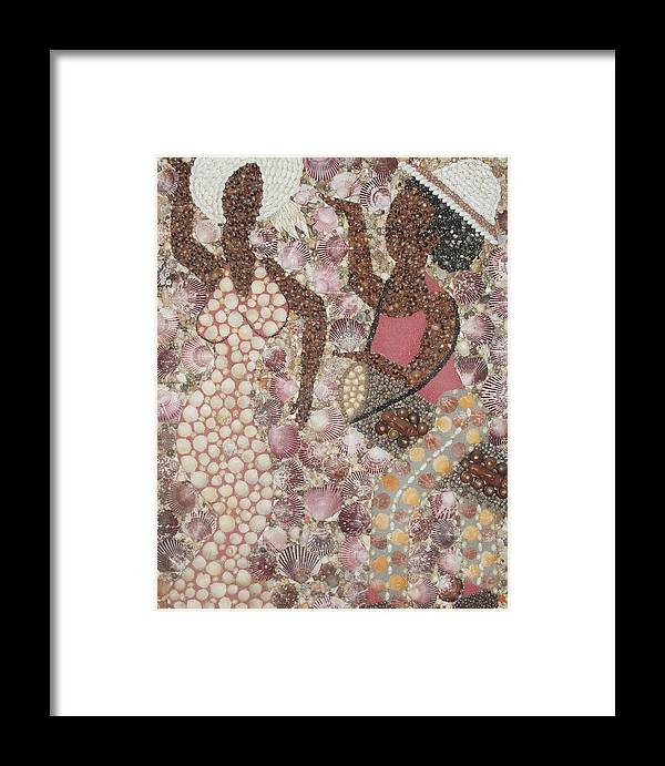 Drummer Framed Print featuring the mixed media Drum Dance by Ben Sivells