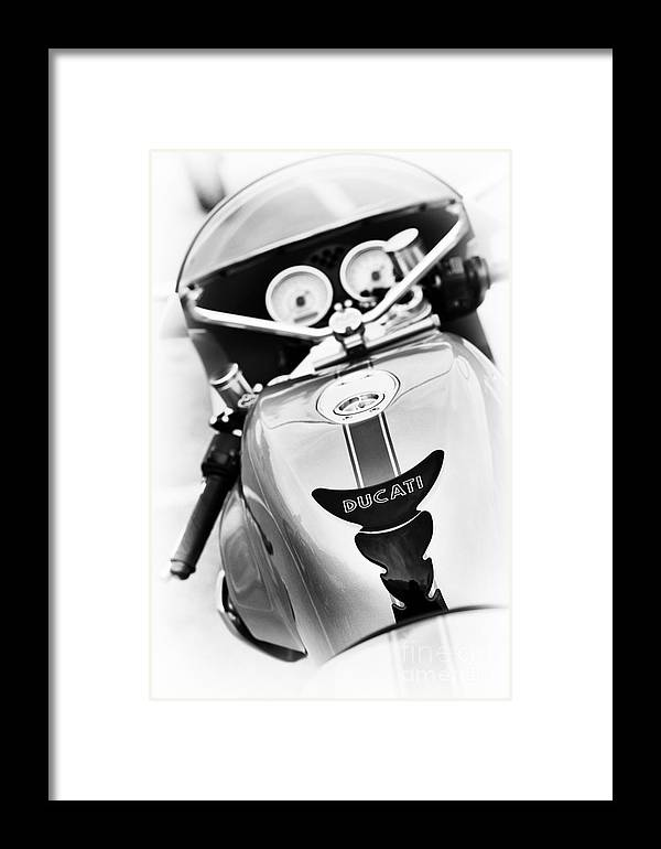Ducati Paulsmart 1000 Le Framed Print featuring the photograph Ducati Ps1000le Abstract by Tim Gainey