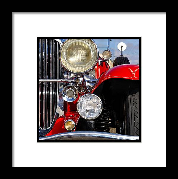 Car Framed Print featuring the photograph Duesenberg by Tim Nyberg